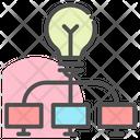 Creative Idea Businessman Creative Icon