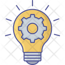 Creative Thinking Creative Solution Creative Light Icon