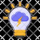 Innovation Creative Idea Storming Icon