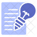 Creative Idea Lamp Icon