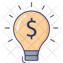 Idea Bulb Creativity Icon