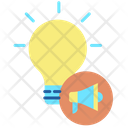 Creative Idea Announcement Icon