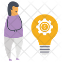 Creative Idea Generation Icon