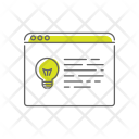 Creative Idea Design Icon