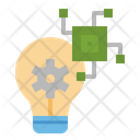 Innovation Idea Process Icon