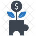 Growth Puzzle Business Icon