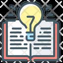 Creative Idea Idea Book Icon