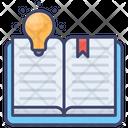 Creative Learning Book Idea Icon