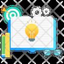 Innovative Learning Creative Learning Innovative Education Icon
