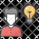 Bulb Idea Creative Light Innovation Icon
