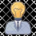 Creative Man Creative Person Creative Businessman Icon