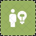 Creative Man Idea Icon