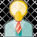 Idea Man Idea Creativity Icon