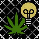 Creative Marijuana Sativa Icon