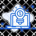 Creative Marketing Financial Idea Innovation Icon