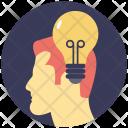 Mind Creative Brain Icon