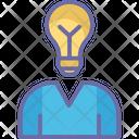 Creative Mind Intelligence Innovative Mind Icon