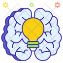 Creative Thinking Creative Brain Creative Development Icon