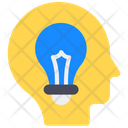 Creative Mind Innovative Thinking Brainstorming Icon
