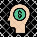 Creative Mind Dollar Pay Icon