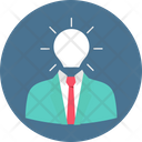 Creative Mind Intelligent Human Mind Icon