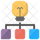 Creative Network Concept Icon
