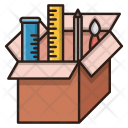 Creative Package Seo Icon