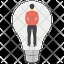 Creative Idea Creative Person Innovative Person Icon