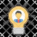Creative Person Creative Thinking Idea Man Icon