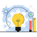 Creative Process Creative Design Creative Idea Icon