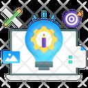 Creative Process Innovative Process Design Tool Icon