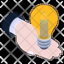 Innovative Process Creative Process Idea Provider Icon