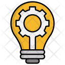 Creative Production Brainstorm Icon