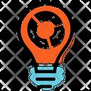 Creative Report Plan Presentation Icon