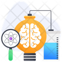 Creative Research Innovative Research Brainstorming Icon