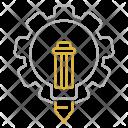 Creative Service Optimization Icon