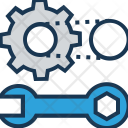 Creative Service Maintenance Icon