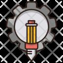 Creative Service Seo Icon