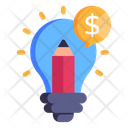 Creative Marketing Creative Services Advertising Idea Icon