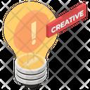 Creative Solution Innovative Idea Icon