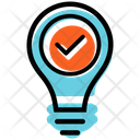 Creative Solution Plan Presentation Icon