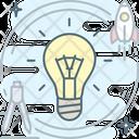 Brainstorm Brainstorming Bulb Icon