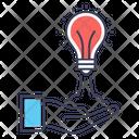 Bright Idea Creative Idea Creative Startup Icon