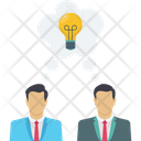 Creative Team Creative Idea Icon