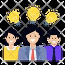 Innovative Team Creative Team Creative Person Icon