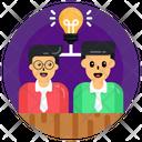 Innovative Team Creative Team Creative Employees Icon
