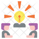 Creative Team Idea Teamwork Icon