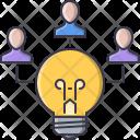 Creative Team Bulb Icon