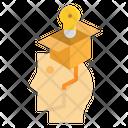 Bulb Gift Hand Icon