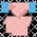 Head Idea Handshake Icon